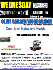 Olive Garden Cruise Night @ Olive Garden