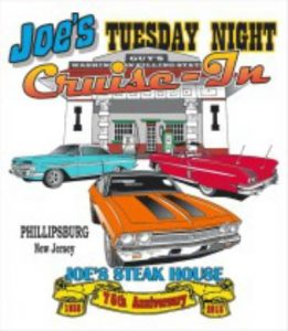 Joe's Steak Shop Tuesday Cruise Night @ Joe's Steak Shop