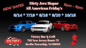 Dirty Jerz Mopar All American Friday's @ Victory Bar & Grill