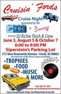 CRUISIN FORDS CRUISE NIGHT @ Sipperstein's Parking Lot
